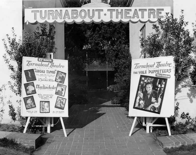 Entrance to the Turnabout Theatre