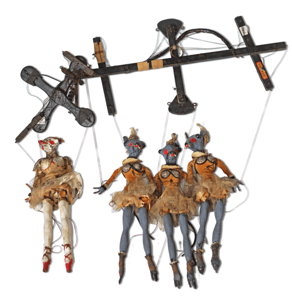 "Puppets Used in Rat Ballet Sequence of ""The Pie-Eyed Piper,"" ca. 1932"